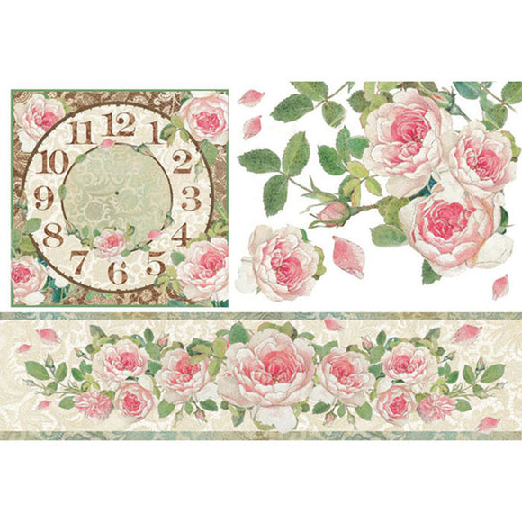 Stamperia 48x33cm Decoupage Rice Paper -