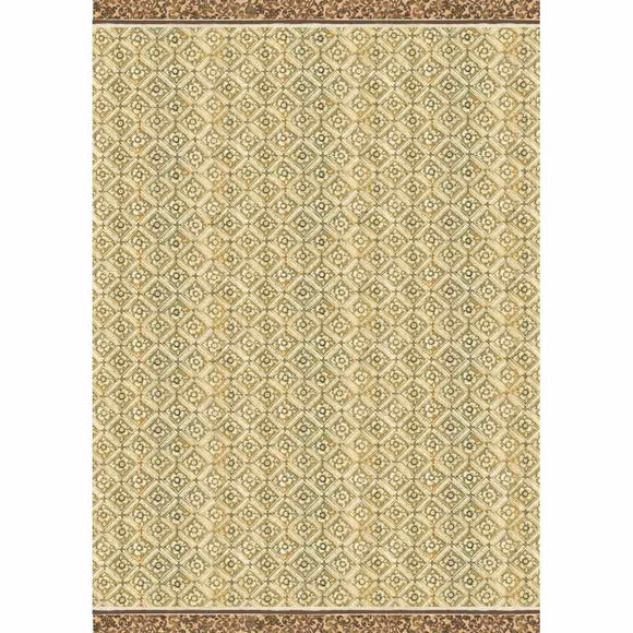 NEW Stamperia Decoupage Rice Paper - A3 Texture Ocher Background - DaliART