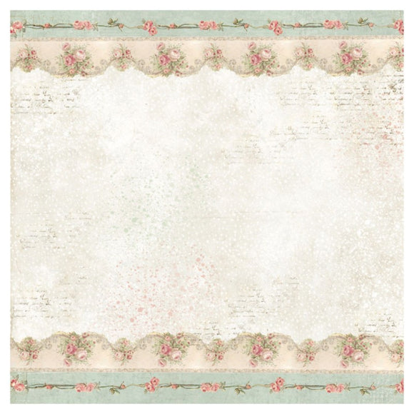 NEW Stamperia 50x50cm Decoupage Rice Paper Border