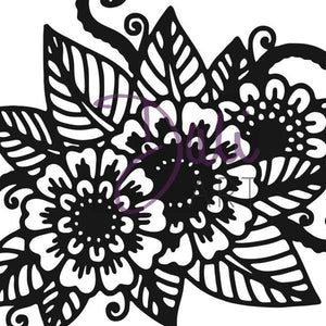 DaliART- Henna Floral Stamp – As seen on TV - DaliART