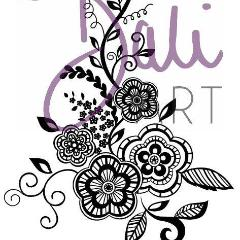 DaliART- Henna Friendship Flower Stamp – As seen on TV, Arts & Entertainment by The Craft House