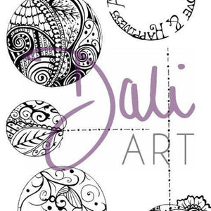 DaliART- Henna Baubles Stamp – As seen on TV - DaliART