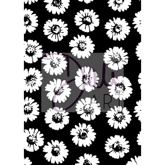 DaliART- Floral Background Stamp - DaliART