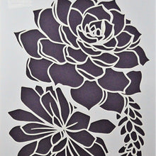 Load image into Gallery viewer, Becky Seddon 7 x 5 Stencil - Sweet Roses - DaliART