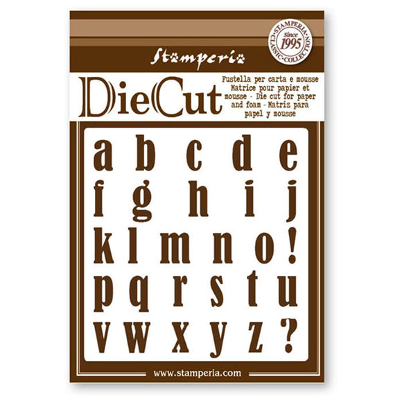New Stamperia Die - Alphabet - FBF026