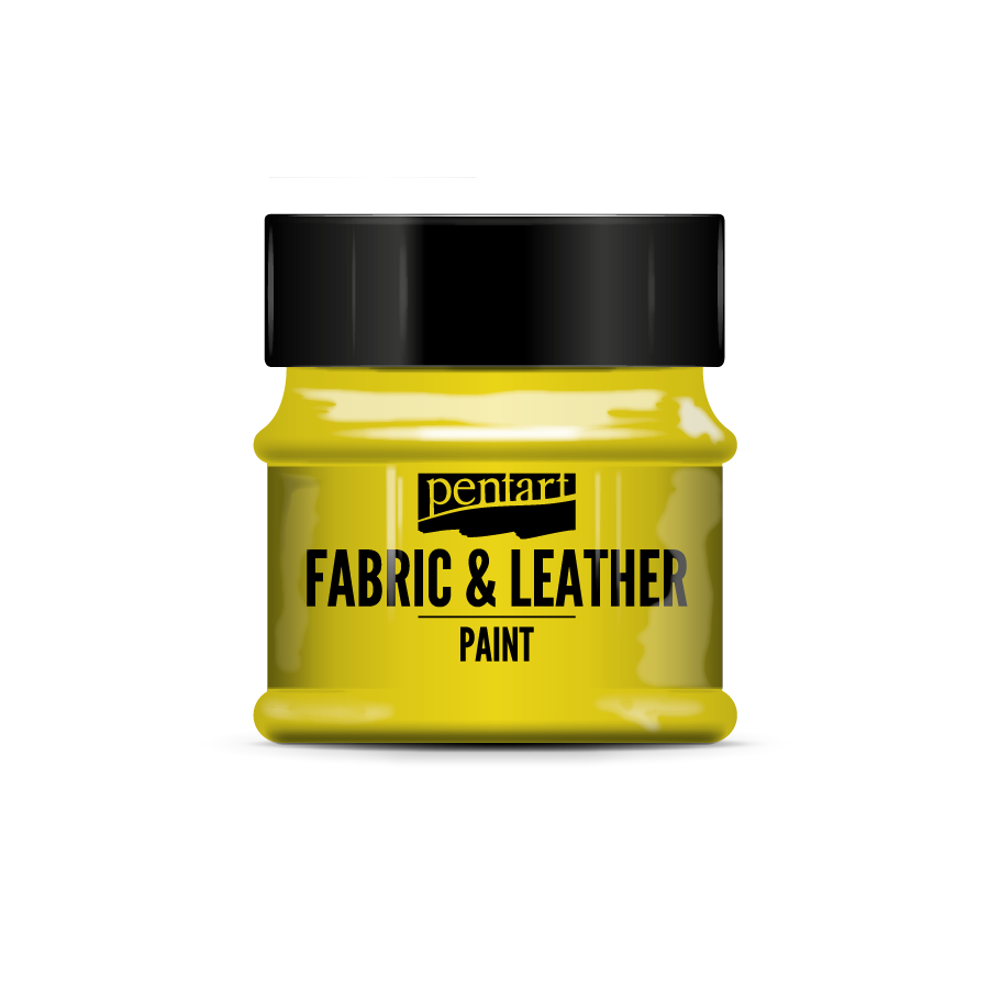 Pentart Fabric & Leather Paint in different effects -50ml, Arts & Crafts by The Craft House