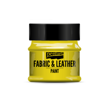 Load image into Gallery viewer, Pentart Fabric & Leather Paint in different effects -50ml