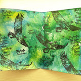 Craftalong Kits - Fly High - Journal Page