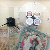 Craftalong Glass Clock Kit - 4 options with Video Tutorial