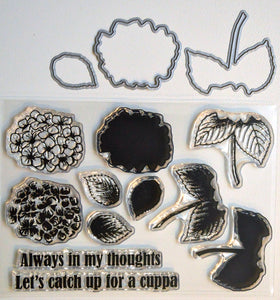 DaliART- As seen on TV – Layered Hydrangea Stamp & Die - DaliART