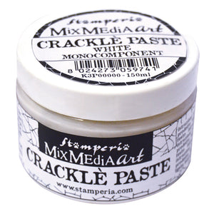 Stamperia Crackle White One Component