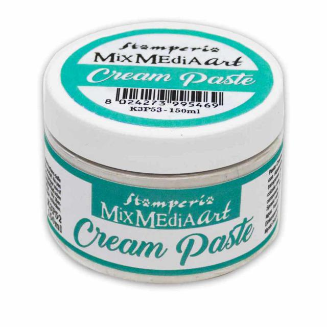 NEW Stamperia Cream Paste  150ml - DaliART