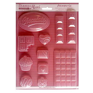 Stamperia A4 Moulds - Chocalate