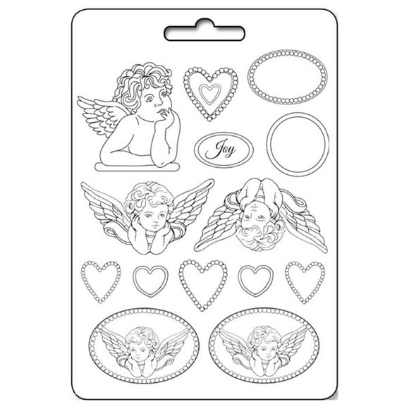 Stamperia A4 Moulds - Angels & Frames