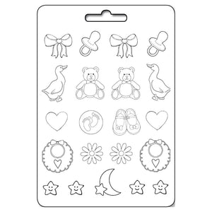 Stamperia A4 Moulds - Baby Accessories