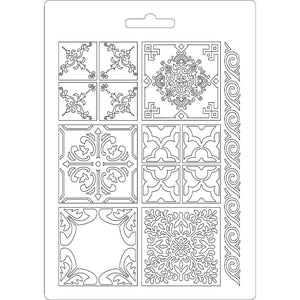 NEW Stamperia Texture Impression Moulds - A5 - Azulejos- K3PTA523