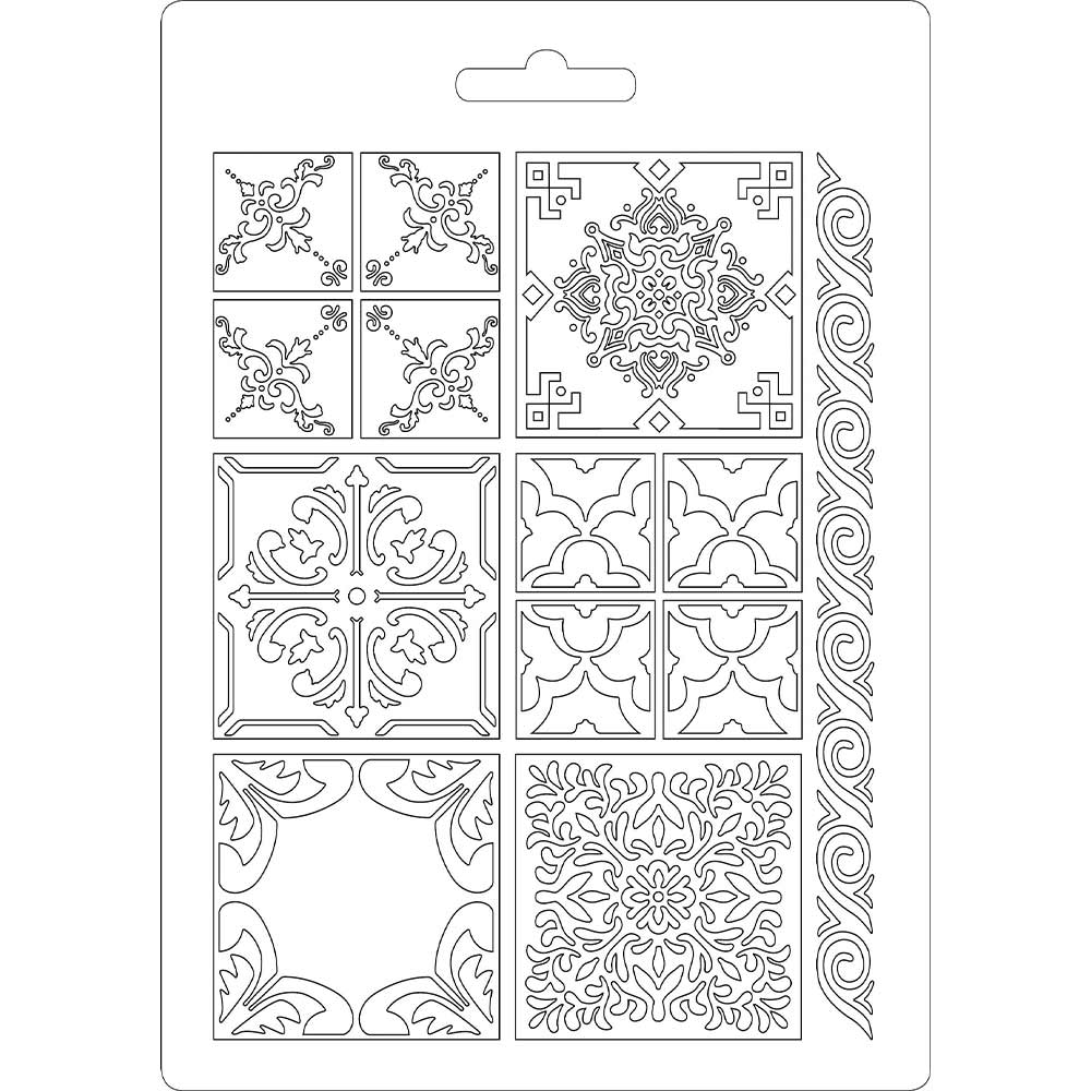 Stamperia Texture Impression Moulds - A5 - Azulejos- K3PTA523