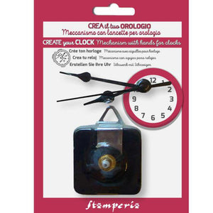 New Stamperia Clock Hands Kit - 6/8/9cm - DaliART