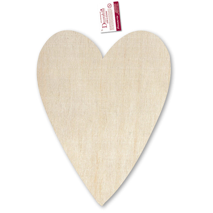 Stamperia Wooden Country Heart - 28 x41cm - KL430, Craft Shapes & Bases by The Craft House