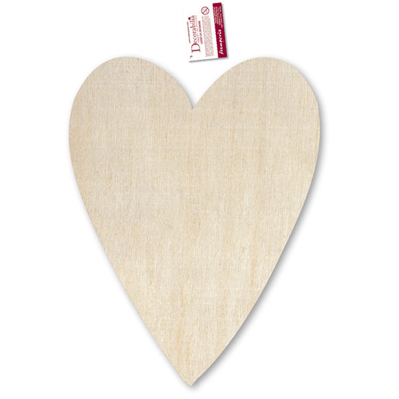 New Stamperia Wooden Country Heart - 28 x41cm - KL430