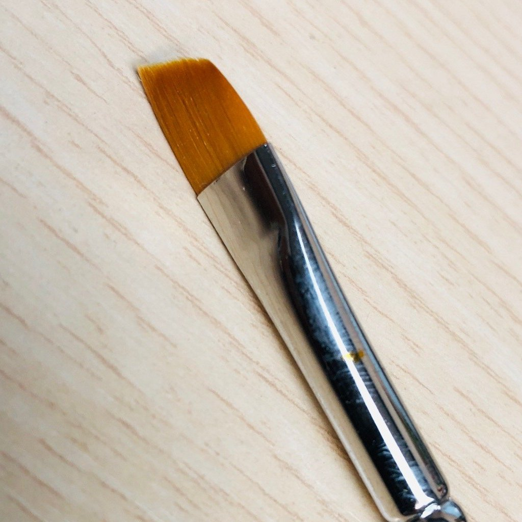 Stamperia  Flat Point Brush - KR34/S, Art & Crafting Tools by The Craft House