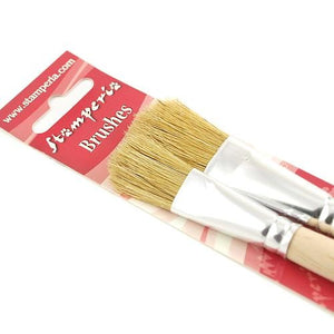 Stamperia Set of Two Large Brushes - KR86
