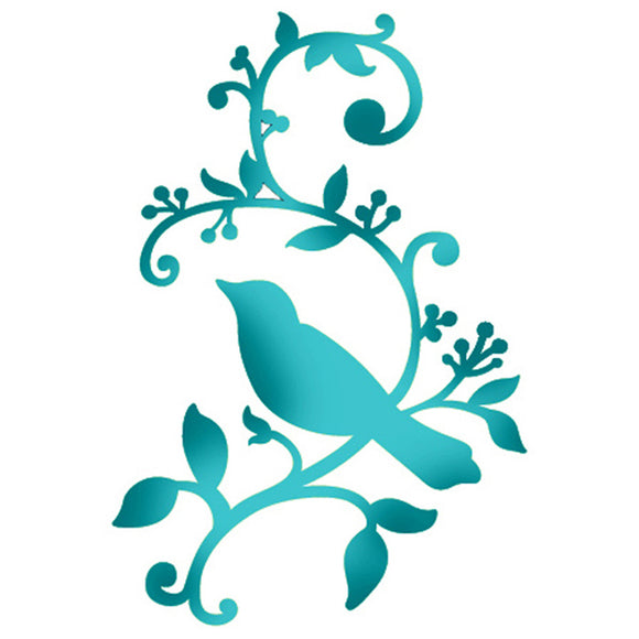 Stamperia Stencil - Flexible transparent 20x15cm - Bird on Branch