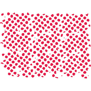Stamperia Stencil - Flexible transparent 20x15cm - Distress Circles- KSD240