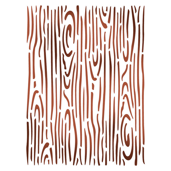 Stamperia Stencil - Flexible transparent 20x15cm - Wood