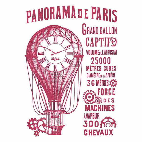 NEW Stamperia Stencil - Flexible transparent 21x29,7cm - Panorama de Paris KSG429