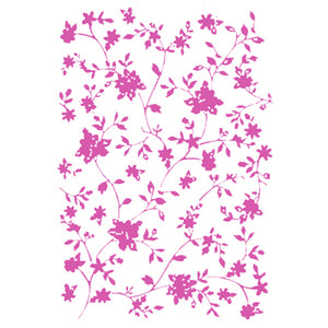 Stamperia Stencils - Flexible transparent 21x29,7cm - Flowers
