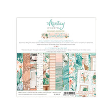 "Load image into Gallery viewer, NEW Mintay 12x12"" Scrapbooking Paper Set with Bonus Sheet - Suntastic- MTSUN07"