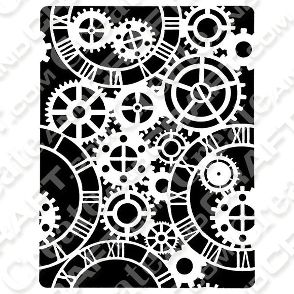 ShokART Mechanical Clocks A5 Stencil