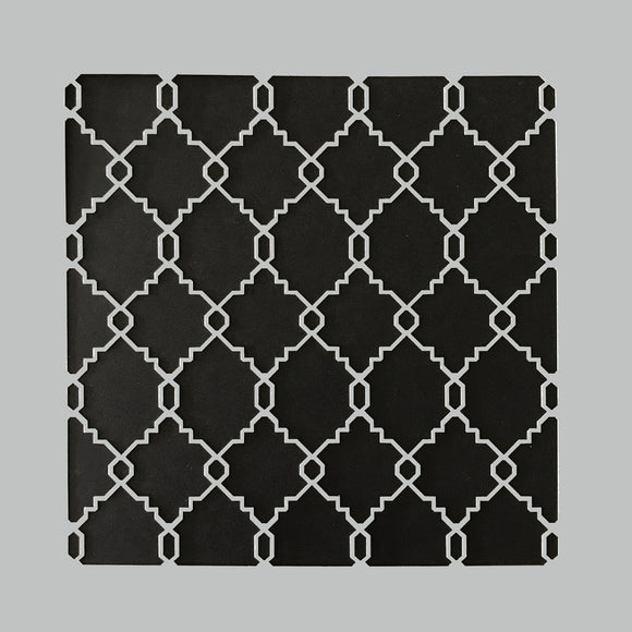 DaliART Stencils - Moroccan Lattice - 7x7