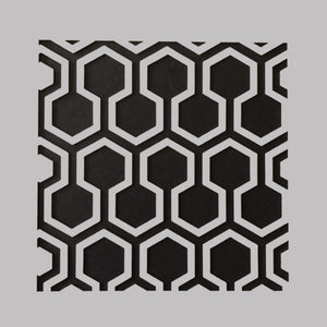 "DaliART Stencils - Hexagon Lattice - 5x5"" - DaliART"