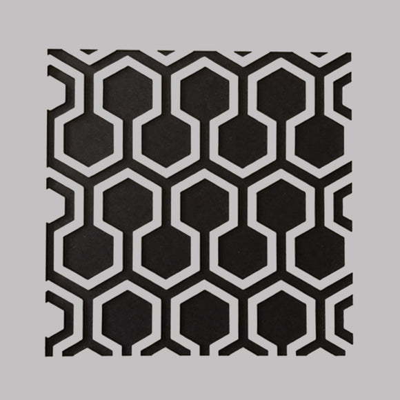 DaliART Stencils - Hexagon Lattice - 5x5