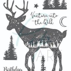 New PipART- Venture into the Wild - Deer - A6 - DaliART