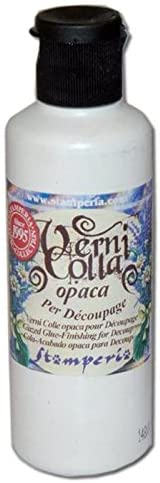 Stamperia Glazed Glue Finishes for Decoupage - 80ml, Craft & Office Glue by The Craft House