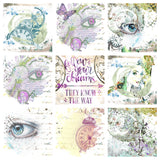 "NEW ShokART- 8x8"" Scrapbooking - Dream of the Magical Things- Digital Download"