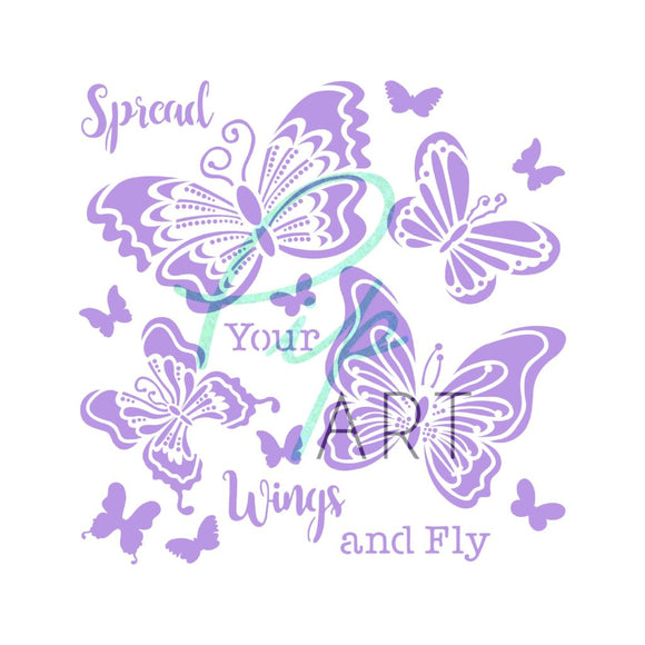 New PipART 'Spread Your Wings and Fly' 7