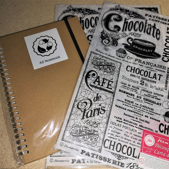 Recipe or Lovers of Chocolate Book Kit