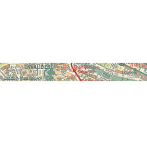 Stamperia Self Adhesive Deco Tape Maps - 1.5cm by 10M