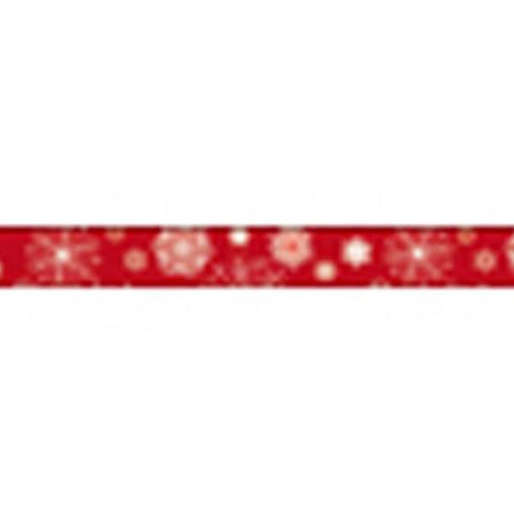 Stamperia Self Adhesive Deco Tape Red Christmas - 1.5cm by 10M