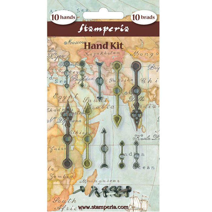 Stamperia Metal Clock Hand Embellishments