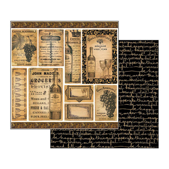 Super Value Stamperia Scrapbooking Collection - 12