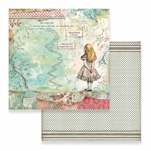 "Stamperia Scrapbooking Sheets - 12"" x 12"" Double Sided - SBB582"