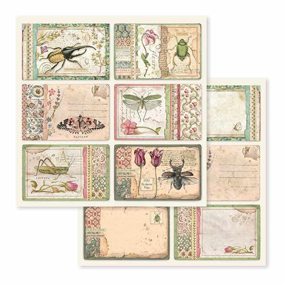 Stamperia Scrapbooking Sheets - 12