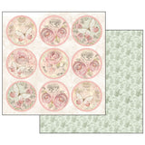 "Stamperia - Shabby Rose - 12"" x 12"" Paper Pad"