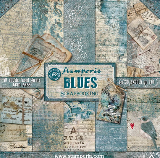 Stamperia - Blues - 12