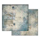 "Stamperia - Blues Collection - 12"" x 12"" Paper Pad"